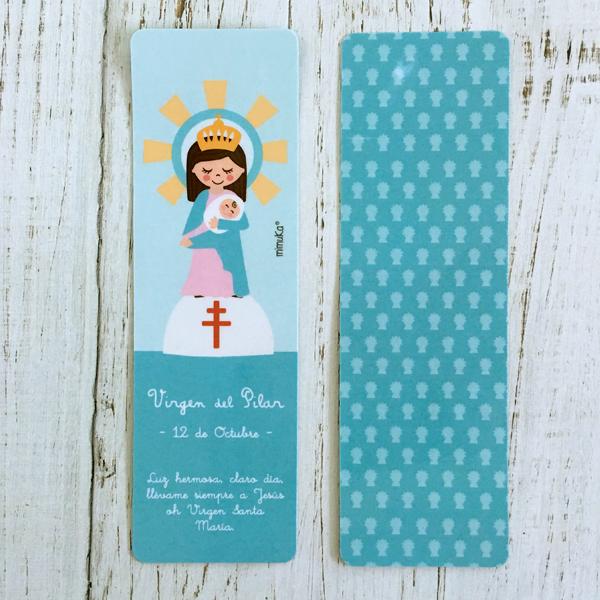 Punto libro Vingen Pilar Azul