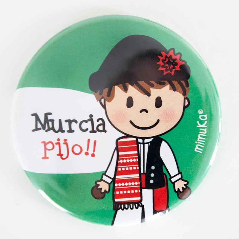 Abrebotellas-imán Huertano Murcia Pijo Verde