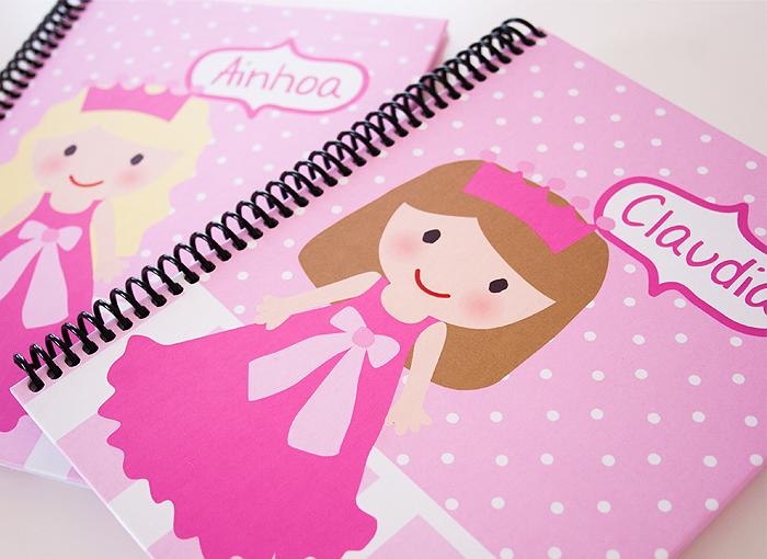 Cuaderno Princesa Personalizado
