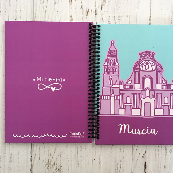 Cuaderno Catedral Morado