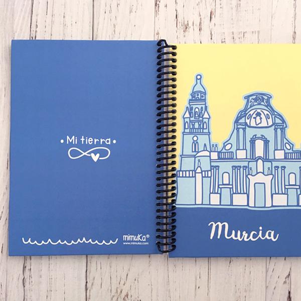 Cuaderno Catedral Amarillo