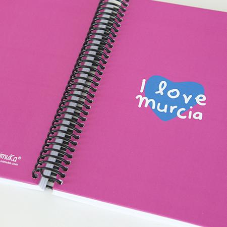 Cuaderno Fucsia Murcia