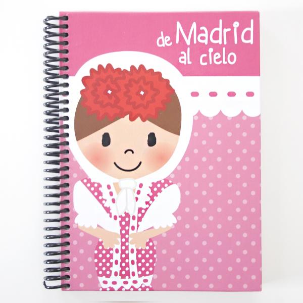 Cuaderno chulapa rosa