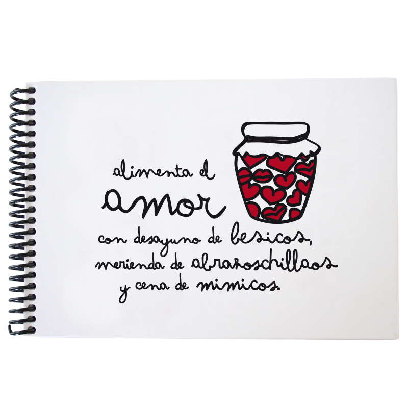 Cuaderno Alimenta el amor