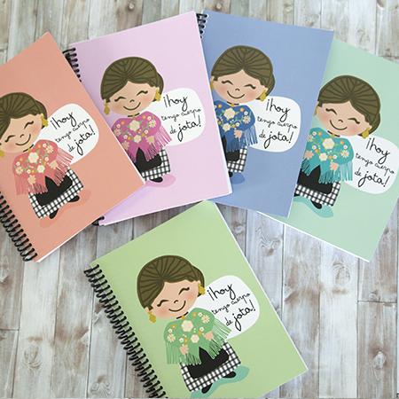 Cuadernos A5 Baturras