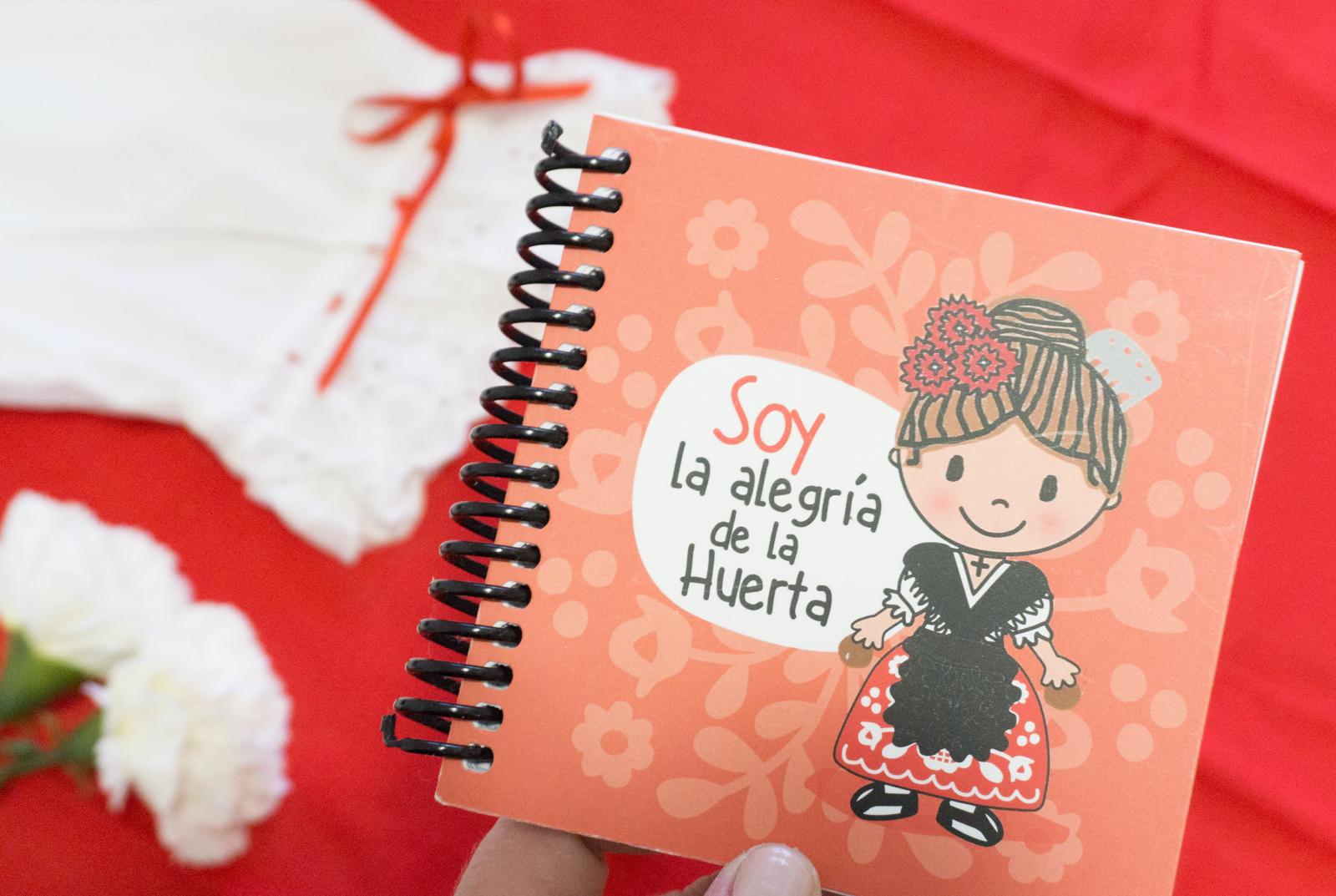 Cuaderno Huertana Rojo