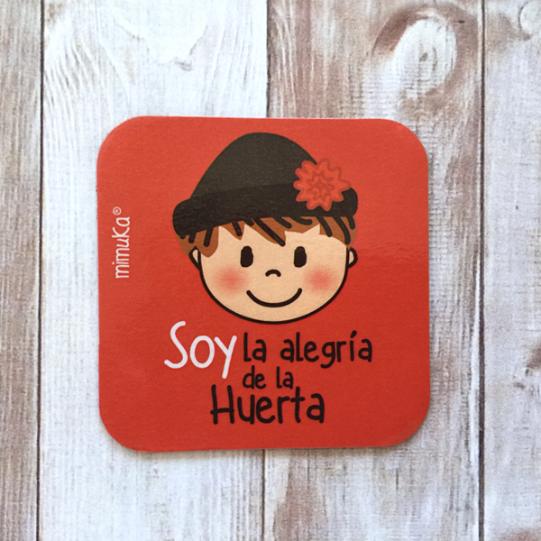 Imán Huertano Soy la Alegria Rojo