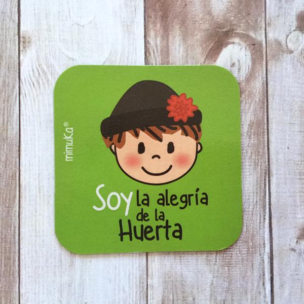 Imán Huertano Soy la Alegria Verde