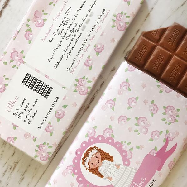 Invitación Chocolatina