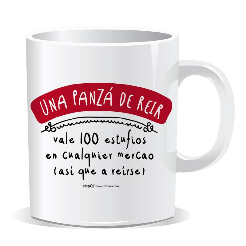 Taza  Panza reir