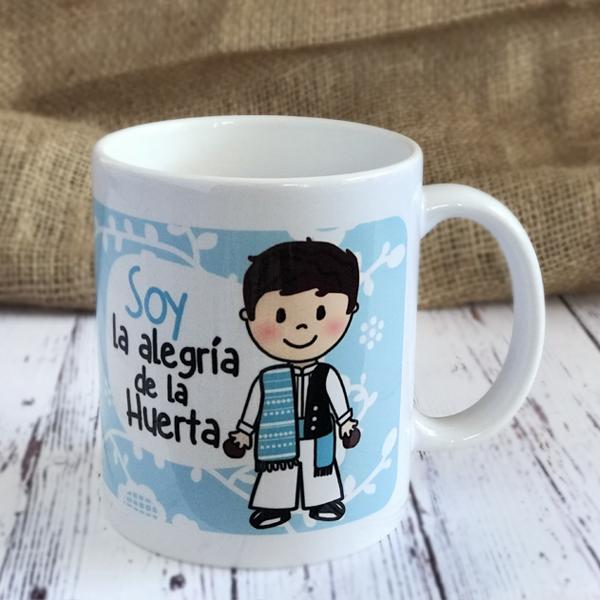Taza Soy la Alegria de la Huerta AZUL