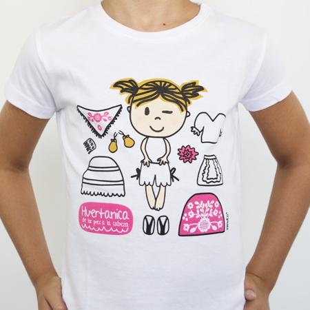 Camiseta niña Prendas huertana
