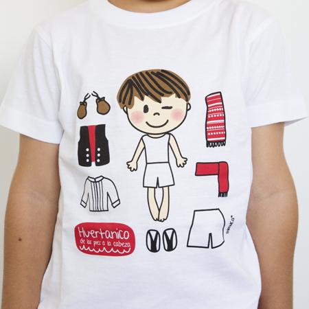 Camiseta Niño prendas huertano