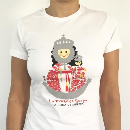 Camiseta Virgen Fuensanta mujer