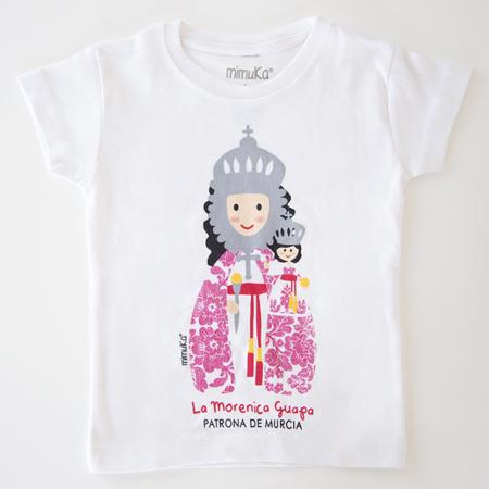 Camiseta Virgen Fuensanta niña