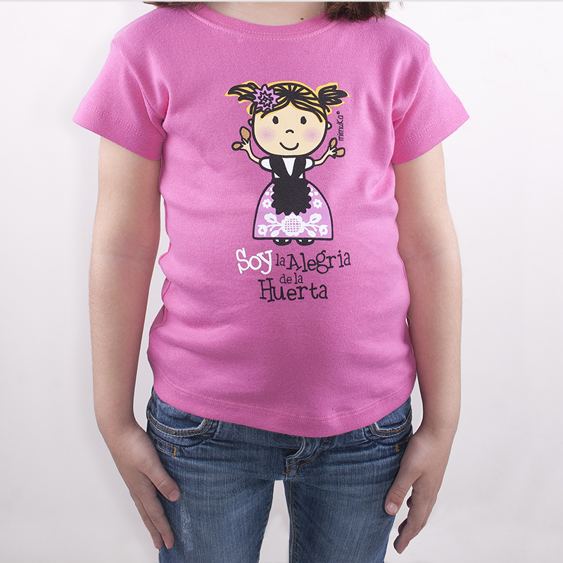 Camiseta Niña Huertana 03