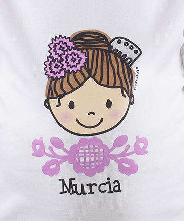 Camiseta Niña Huertana 02