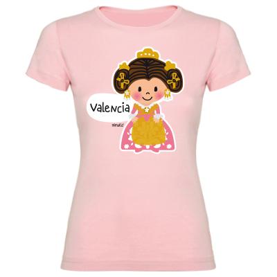 Camiseta Fallera Rosa