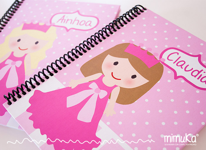 agendas y cuadernos  personalizados