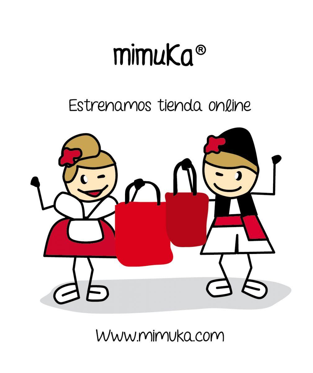 MIMUKA ya tiene  tienda ONLINE
